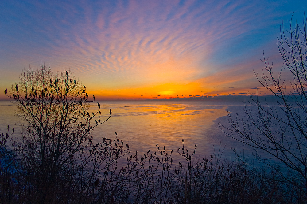 Winter Sunrise - Lake Ontario